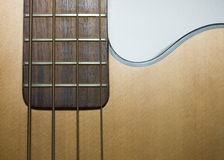 Acoustic Bass Guitar Royalty Free Stock Photo