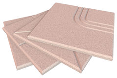 Acoustic ceiling tiles Royalty Free Stock Photography