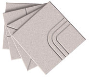Acoustic ceiling tiles Royalty Free Stock Images