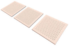 Acoustic ceiling tiles Stock Images