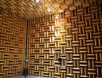 Acoustic chamber. Royalty Free Stock Photos