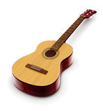 Acoustic classic guitar Royalty Free Stock Photo