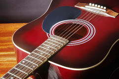 Acoustic classical guitar Royalty Free Stock Photography
