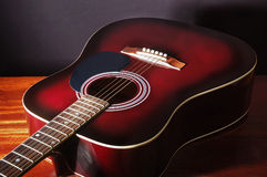 Acoustic classical guitar Royalty Free Stock Photos