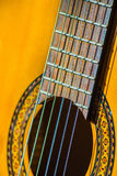 Acoustic classical guitar. Stock Image