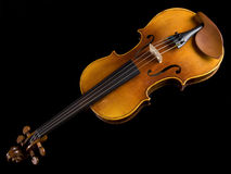 Acoustic Classical Violin top Stock Image