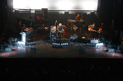 Acoustic concert of Subsonica Stock Image