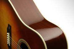 Acoustic Curves Royalty Free Stock Photography