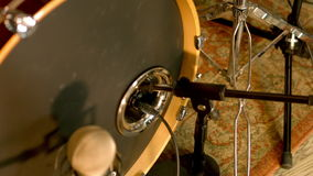 Acoustic Drums Kick stock video footage