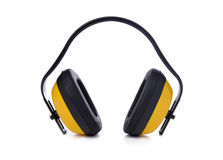 Acoustic earmuffs Royalty Free Stock Photos
