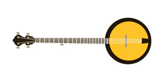 Acoustic electric guitar vector icons isolated illustration guitars silhouette music concert sound retro musical bass Stock Photos