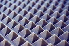 Acoustic foam panel background Stock Images