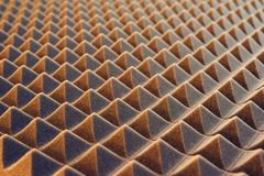 Acoustic foam panel background Stock Photos