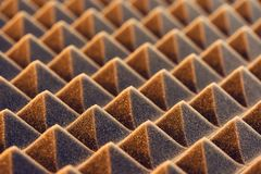 Acoustic foam panel background Royalty Free Stock Photography