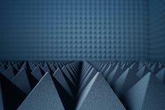 Free Acoustic Foam Pyramids Stock Image - 80989441