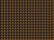 Acoustic foam wall. With a light from right Royalty Free Stock Photos