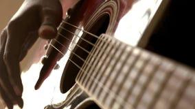 acoustic guitar απόθεμα βίντεο