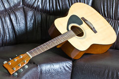 Acoustic guitar. Royalty Free Stock Photo