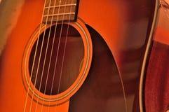 acoustic guitar Στοκ φωτογραφία με δικαίωμα ελεύθερης χρήσης