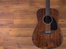 acoustic guitar Στοκ Φωτογραφίες