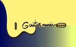 acoustic guitar διανυσματική απεικόνιση