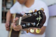acoustic guitar Στοκ Εικόνες