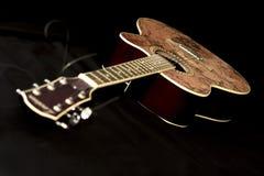 acoustic guitar στοκ εικόνα