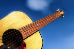 acoustic guitar Στοκ φωτογραφίες με δικαίωμα ελεύθερης χρήσης