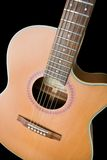 Acoustic Guitar. Acoustic steel string guitar Royalty Free Stock Photography