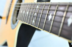 Acoustic guitar. Stock Photography