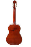 Acoustic guitar back. Back of acoustic guitar - clipping path included Stock Photo