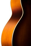 Acoustic guitar body detail Royalty Free Stock Photos
