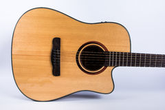 Acoustic guitar body Royalty Free Stock Photos