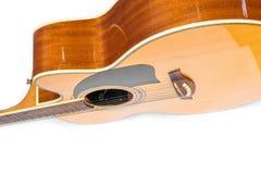 Acoustic guitar body Stock Photos