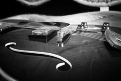 Acoustic guitar royalty free stock images