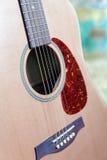 Acoustic Guitar Closeup Royalty Free Stock Photos
