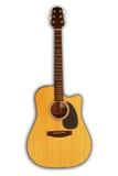 Acoustic guitar - cutaway Royalty Free Stock Photos