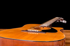 Acoustic guitar detail Stock Image