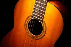 Acoustic guitar detail Stock Photos