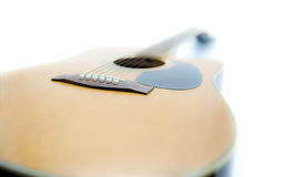 Acoustic Guitar and dream Stock Photo
