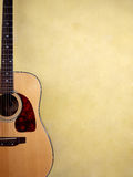 Acoustic guitar five Royalty Free Stock Photography