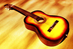 Acoustic Guitar! Royalty Free Stock Image