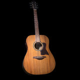 Acoustic guitar over black background Stock Images