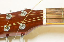 Acoustic guitar repair Stock Image