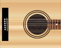Acoustic Guitar Soundboard Stock Photography
