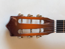 Acoustic guitar stringed instrument Royalty Free Stock Image