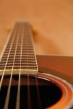 Acoustic Guitar in Sunburst Royalty Free Stock Photography