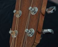 Acoustic Guitar Tuners royalty free stock image