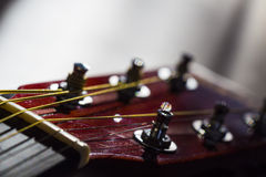 Acoustic guitar Tuners Royalty Free Stock Photography