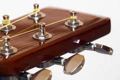 Acoustic guitar Tuners Stock Photography